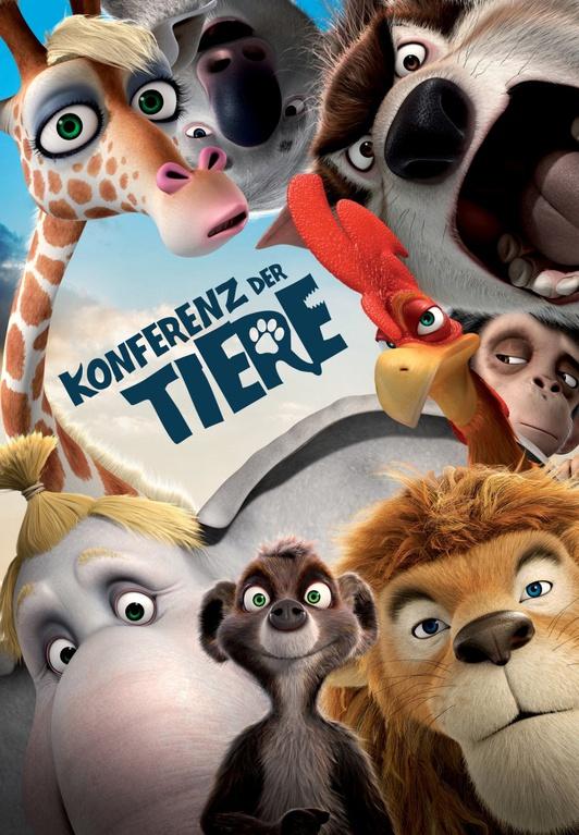 Союз зверей die konferenz der tiere animals united