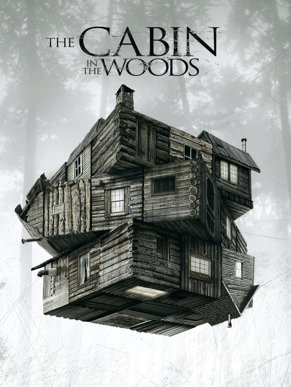 хижина в лесу в кино