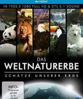 Blu-ray Всемирное Природное Наследие (5-и дисковое издание) / The World Natural Heritage: True Treasures of the Earth (5-Disc Edition)