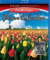 Blu-ray Живые пейзажи: Цветы и Сады / Living Landscapes - Earthscapes: Flowers & Gardens