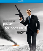 Blu-ray Джеймс Бонд. Агент 007: Квант милосердия / James Bond: Quantum of Solace