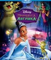 Blu-ray Принцесса и лягушка / The Princess and the Frog