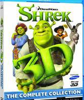 Blu-ray 3D Шрэк: Полная коллекция (3D) / Shrek The Complete Collection (3D)