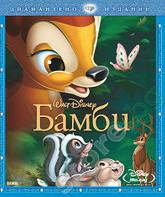 Blu-ray Бэмби (Платиновое издание) / Bambi (Diamond Edition)