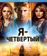 Blu-ray Я – Четвертый / I Am Number Four