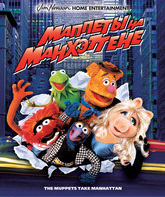Blu-ray Маппеты на Манхэттене / The Muppets Take Manhattan