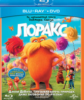 Blu-ray Лоракс / Dr. Seuss' The Lorax