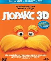 Blu-ray 3D Лоракс (2D+3D) / Dr. Seuss' The Lorax (2D+3D)
