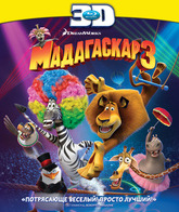 Blu-ray 3D Мадагаскар 3 (3D) / Madagascar 3: Europe's Most Wanted (3D)