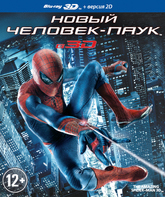 Blu-ray 3D Новый Человек-паук (3D) / The Amazing Spider-Man (3D)