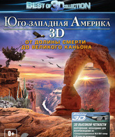 Blu-ray 3D Юго-западная Америка: От Долины смерти до Великого каньона (3D) / America's Southwest: From Grand Canyon To Death Valley (3D)