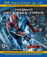 Blu-ray Новый Человек-паук (Mastered in 4K) / The Amazing Spider-Man (Mastered in 4K)