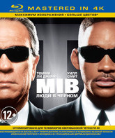 Blu-ray Люди в черном (Mastered in 4K) / Men in Black (Mastered in 4K)