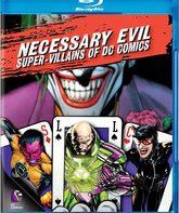 Blu-ray Необходимое зло: Супер-Злодеи DC Comics / Necessary Evil: Super-Villains of DC Comics
