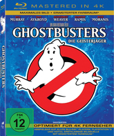 Blu-ray Охотники за привидениями (Mastered in 4K) / Ghost Busters (Mastered in 4K)