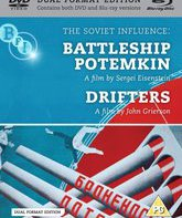 Blu-ray Броненосец «Потемкин» / Рыбачьи суда / The Soviet Influence Volume 2: Battleship Potemkin / Drifters