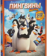 Blu-ray 3D Пингвины Мадагаскара (3D) / Penguins of Madagascar (3D)