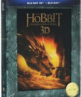 Blu-ray 3D Хоббит: Пустошь Смауга (Режиссерская версия) (2D+3D) / The Hobbit: The Desolation of Smaug (Extended Edition) (2D+3D)