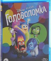 Blu-ray Головоломка (2-х дисковое издание) / Inside Out (2-Disc Edition)
