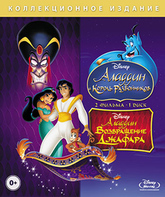 Blu-ray Аладдин и король разбойников / Возвращение Джафара / Aladdin and the King of Thieves / The Return of Jafar