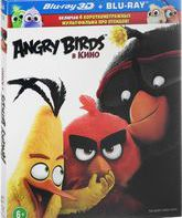 Blu-ray 3D Angry Birds в кино (3D) / Angry Birds (3D)
