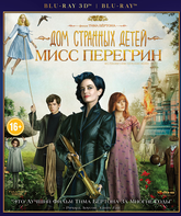 Blu-ray 3D Дом странных детей Мисс Перегрин (3D+2D) / Miss Peregrine's Home for Peculiar Children (3D+2D)