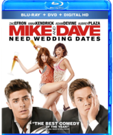 Blu-ray Свадебный угар / Mike and Dave Need Wedding Dates