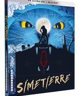 4K UHD Blu-ray Кладбище домашних животных (Steelbook) (Юбилейное издание) / Pet Sematary (Steelbook 4K) (30th Anniversary Edition)