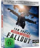4K UHD Blu-ray Миссия невыполнима: Последствия (Steelbook) / Mission: Impossible - Fallout (Steelbook 4K)