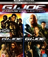 4K UHD Blu-ray Бросок Кобры / Бросок кобры 2 / G.I. Joe: The Rise of Cobra / G.I. Joe: Retaliation (4K)