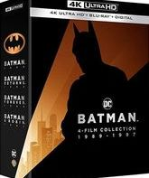 Бэтмен: Коллекция [4K UHD Blu-ray] / Batman 4-Film Collection (4K)