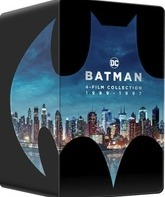 Бэтмен: Коллекция (SteelBook) [4K UHD Blu-ray] / Batman 4-Film Collection (Steelbook 4K)