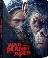 Планета обезьян: Война (3D+2D Steelbook) [Blu-ray] / War for the Planet of the Apes (3D+2D Steelbook)