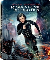 Обитель зла: Возмездие (3D+2D Steelbook) [Blu-ray 3D] / Resident Evil: Retribution (3D+2D Steelbook)