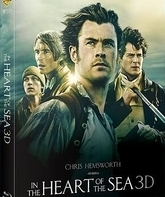 В сердце моря (3D+2D Коллекционное издание Steelbook) [Blu-ray 3D] / In the Heart of the Sea (3D+2D Steelbook Limited Collector's Edition)