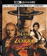 Маска Зорро [4K UHD Blu-ray] / The Mask of Zorro (4K)