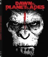 Планета обезьян: Революция (3D+2D) Steelbook [Blu-ray 3D] / Dawn of the Planet of the Apes (3D+2D) Steelbook