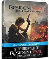 Обитель зла: Последняя глава (3D+2D) Steelbook [Blu-ray 3D] / Resident Evil: The Final Chapter (3D+2D) Steelbook