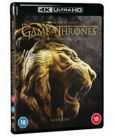 Игра престолов. Сезон 2 [4K UHD Blu-ray] / Game of Thrones. Season 2 (Zavvi 4K)