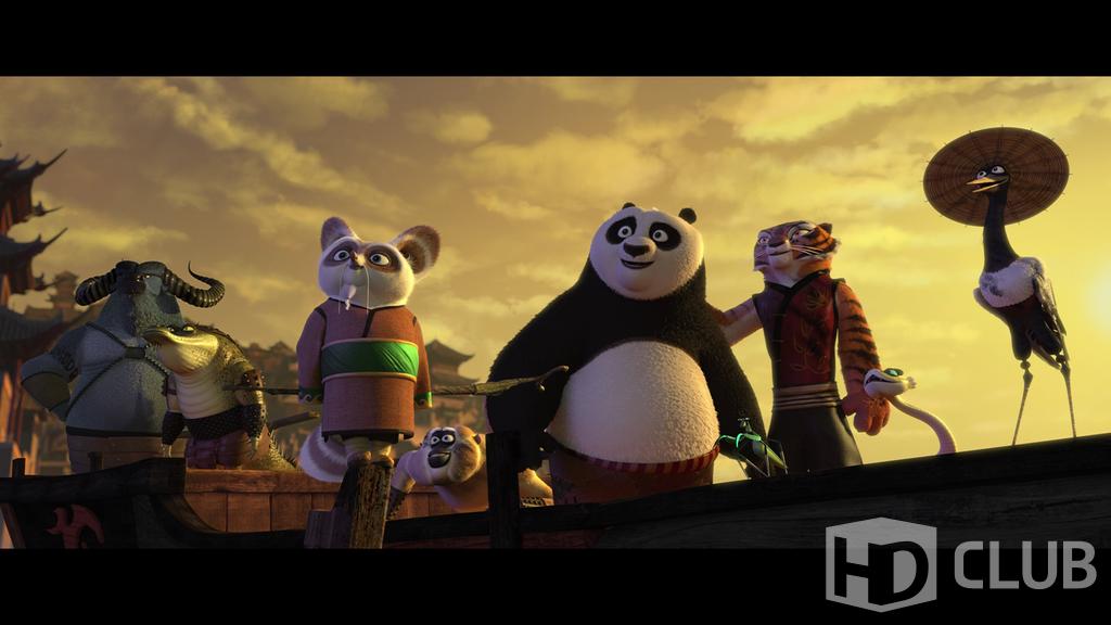 Blu-ray 3D Кунг-фу Панда 2 (3D) / Kung Fu Panda 2 (3D) .