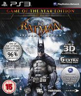 PS3 Бэтмен: Психбольница Аркхема (GoTY Edition) / Batman: Arkham Asylum - Game of the Year Edition