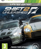 Xbox 360 Жажда скорости Shift 2 Unleashed (Ограниченное издание) / Need For Speed Shift 2 Unleashed. Limited Edition