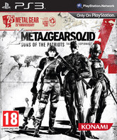 PS3 Метал Гир Солид 4: Guns of the Patriots (Юбилейное издание) / Metal Gear Solid 4: Guns of the Patriots (25th Anniversary Edition)