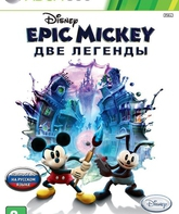 Xbox 360 Дисней Epic Mickey: Две легенды / Disney Epic Mickey 2: The Power of Two