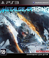 PS3 Метал Гир Rising: Revengeance / Metal Gear Rising: Revengeance