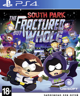 PS4 Южный парк: Расколотый, но целый / South Park: The Fractured But Whole