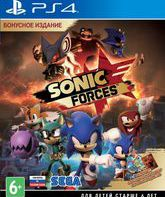 PS4 Соник Forces (Бонусное издание) / Sonic Forces. Bonus Edition