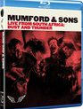 Blu-ray Mumford & Sons: наживо из ЮАР - Пыль и гром / Mumford & Sons: Live from South Africa - Dust and Thunder