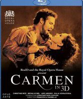 Blu-ray 3D Бизе: Кармен / Bizet: Carmen 3D - Live at the Royal Opera House (2010)