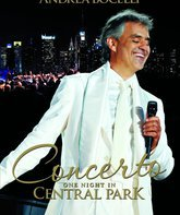 Blu-ray Андреа Бочелли: Концерт в Централ Парк, Нью-Йорк / Andrea Bocelli: Concerto - One Night in Central Park (2011)